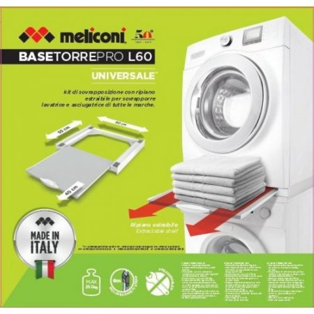 Meliconi Accessori grandi elettrodomestici - Torre Pro L60 656114