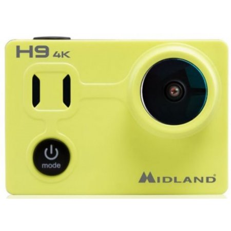 Midland Action cam - H9 Giallo-nero