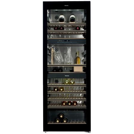 Miele Conservazione parallela del vino con zone di temperatura separate - KWT 6834