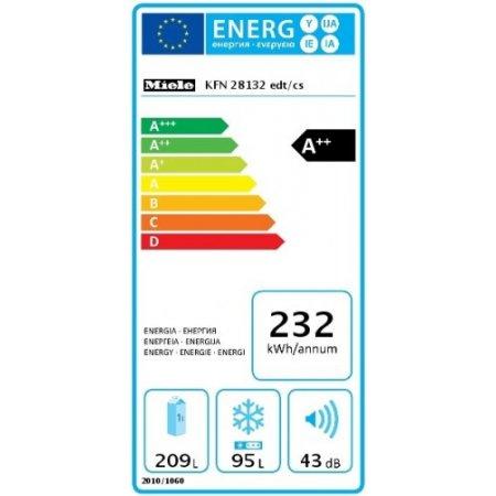 Miele Illuminazione ottimale e senza manutenzione del vano interno a LED - Kfn 28132 D Edt Cs