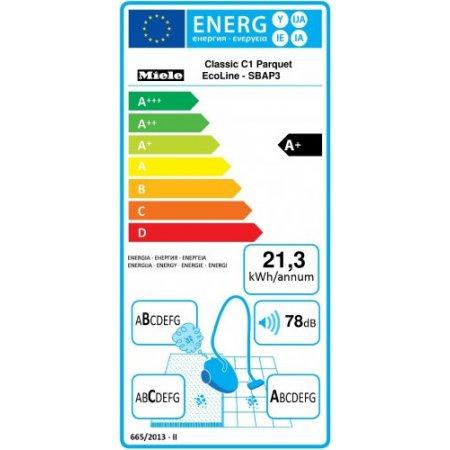 Miele Aspirazione a risparmio energetico -550W - Classic C1 Parquet Ecoline