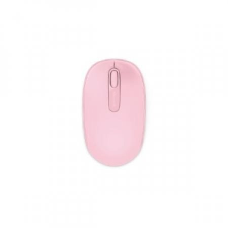 MICROSOFT Microsoft Wireless Mobile Mouse 1850, RF Wireless+USB, Travel, PC/PC portatile, Rosa, Ambidestro, USB - WIRELESS MOBILE 1850 ROSA