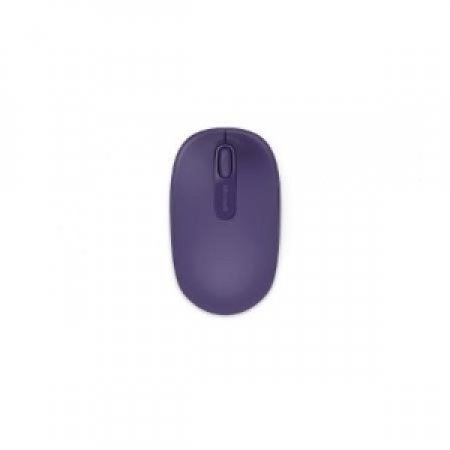 MICROSOFT Microsoft Wireless Mobile Mouse 1850, RF Wireless+USB, Travel, PC/PC portatile, Porpora, Ambidestro, USB - WIRELESS MOBILE 1850 VIOLA