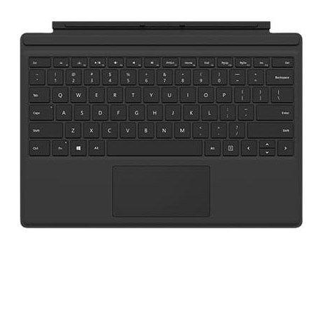 Microsoft Cover con Tastiera per Surface Pro 4 - Cover Black Per Surface Pro 4