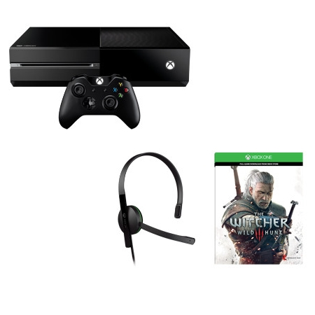 Microsoft Console XBox One - XBOX One 500GB +The Witcher 3: Wild Hunt
