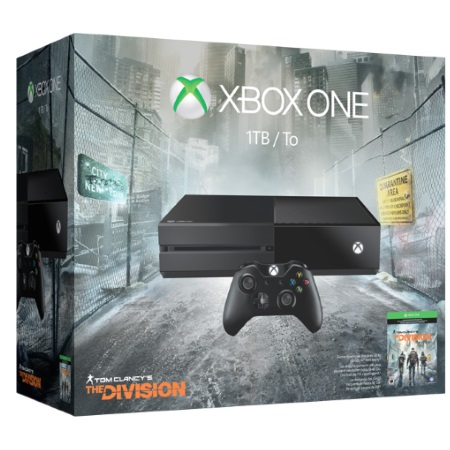 Microsoft Console XBox One - XBox One 1 TB + Tom Clancy's The Division
