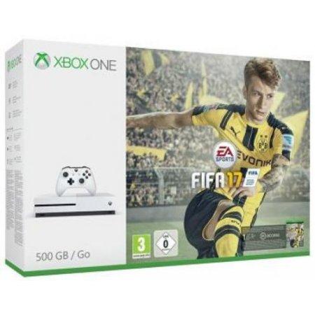 Microsoft - Zq9-00054 Xbox One S 500gb + Fifa 17