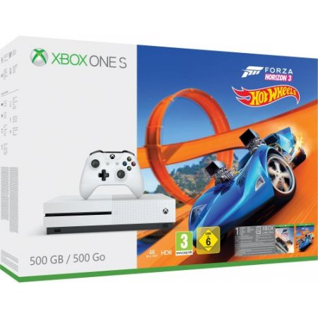 Microsoft Console fissa - Xbox One S 500Gb + Forza Horizon 3 + Hot Wheels