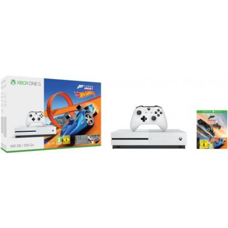 Microsoft - Xbox One S 500Gb + Forza Horizon 3 + Hot Wheels