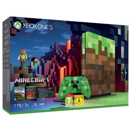 Microsoft Console XBox One - Xbox One S Minecraft Le23c-00009