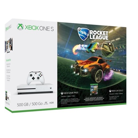 Microsoft - Xbox One S 500gb + Rocket League + Live 3m zq9-00326