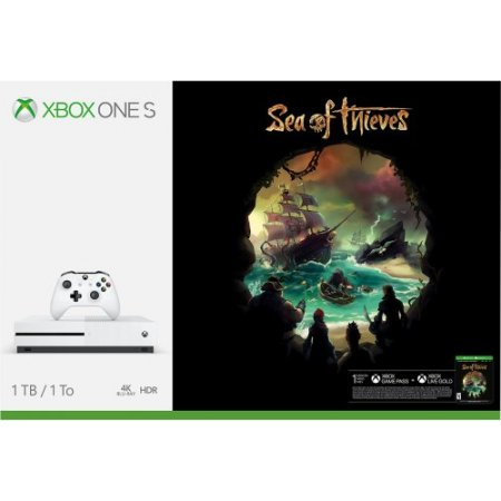 Microsoft - Xbox One S 1tb + Sea Of Thieves 23400331