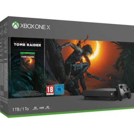 Microsoft Console fissa - Xbox One X 1tb Shadow Of The Tomb Raider Cyv-00103