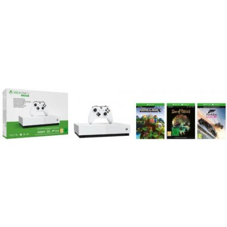 Microsoft Console fissa - Xbox One S It Italy S-mk Old Digital Njp-00031