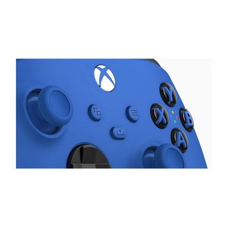 XBOX CONTROLLER SHOCK BLUE MICROSOFT Xbox Controller - Blue