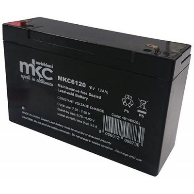 Irradio ConnettoreFaston 4.8mm - 491460203 batteria al piombo ricaricabile