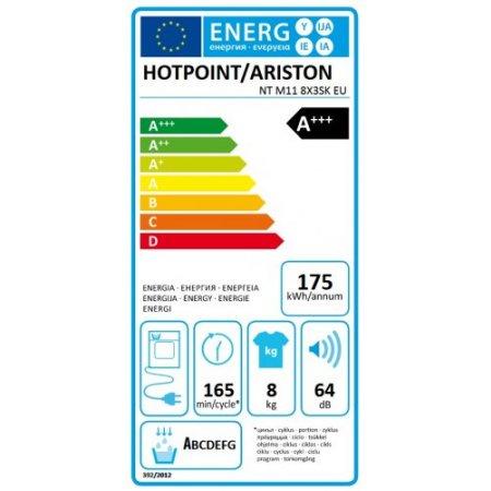 Hotpoint Asciugatrice a condensazione - ariston - Nt M11 8x3sk Eu