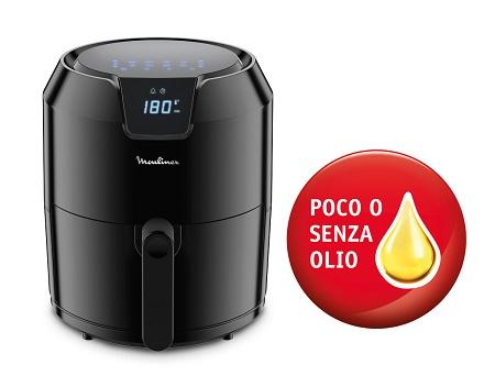 EASY FRY MOULINEX Con poco o senza olio necessario per una frittura sana - FRIGGITRICE AD ARIA SENZA OLIO