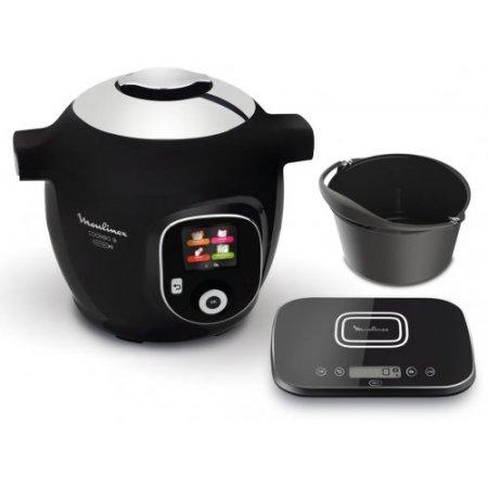 Moulinex Cooking robot 1600 w - Cookeo+ Grameez Connect Ce8598 Nero