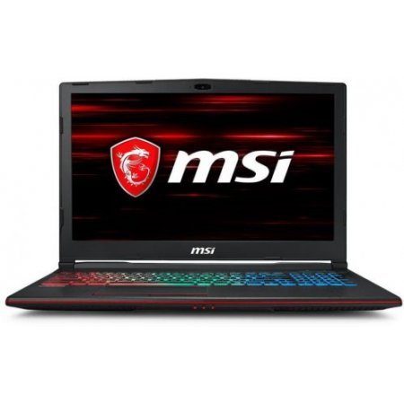Msi Notebook - Gp63 Leopard 8re-072it Nero