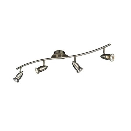 Philips Massive Lighting Lampada da soffitto - Comet Bar/tube Nickel 4x50w 230v