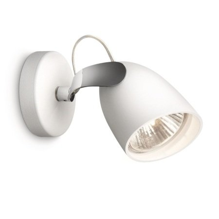 Philips Massive Lighting Lampada da parete - Myliving Single Spot White 1x75w