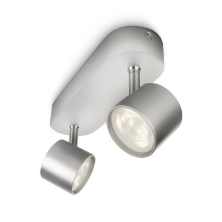 Philips Massive Lighting Lampade da soffitto o da parete - Promo Bar/tube Led Aluminium 2x4w