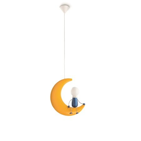 Philips Massive Lighting - Lunardo Pendant Yellow 1x14w 230v