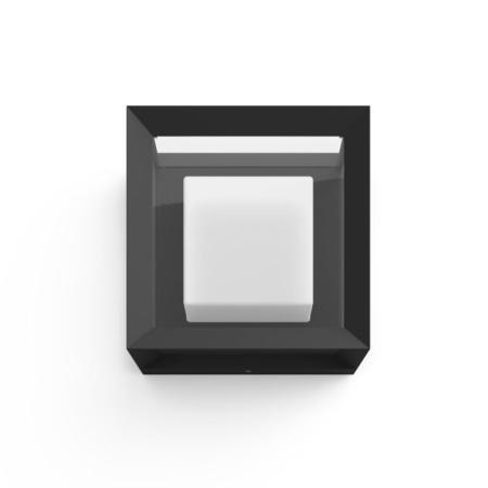 Philips Hue Econic Lampada da parete o soffitto in vetro e acciao - 1743830p7