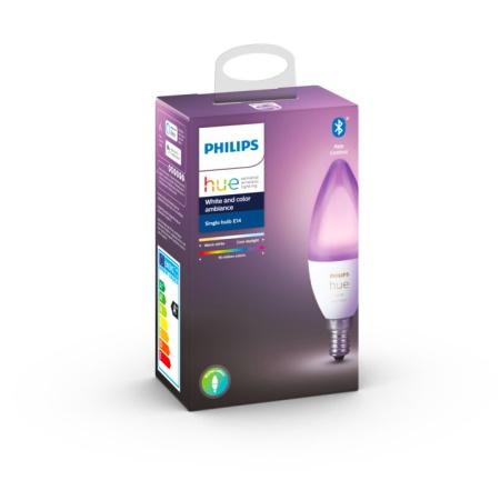 Philips Hue Lampadina Smart E14 White and Color Ambiance - 72631700