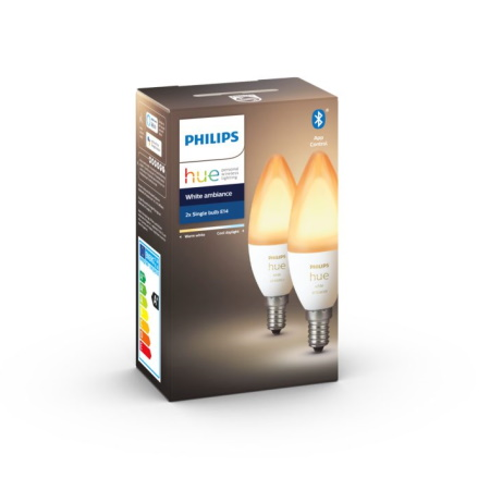 Philips Hue Lampadina Smart E14 Double White Ambiance - 72635500
