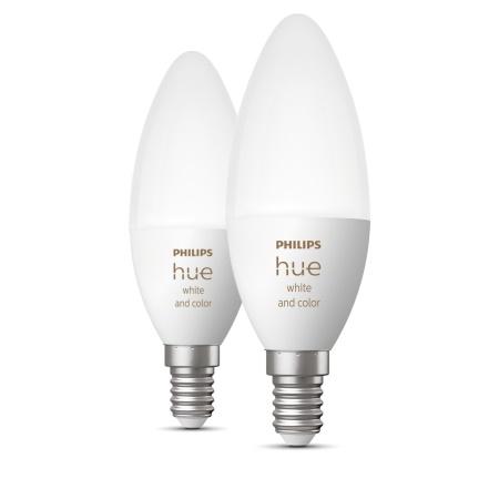 Philips Hue Lampadina Smart E14 Double White and Color Ambiance - 72633100