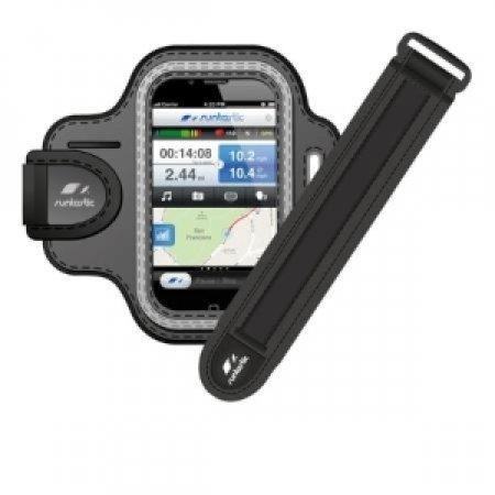 RUNTASTIC Fascia da braccio sportiva leggera e confortevole progettata per la maggior parte degli smartphone - RUNTASTIC RUNARM1 FASCIA SMARTPHONE