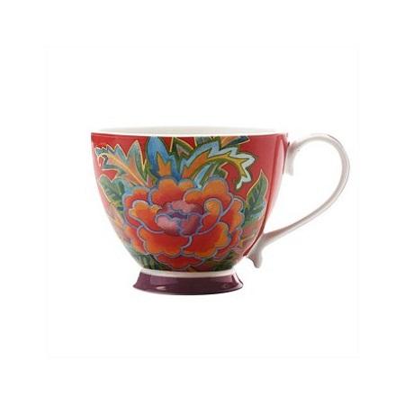 HANOI MUG FLOWER PEONY 400ML RED