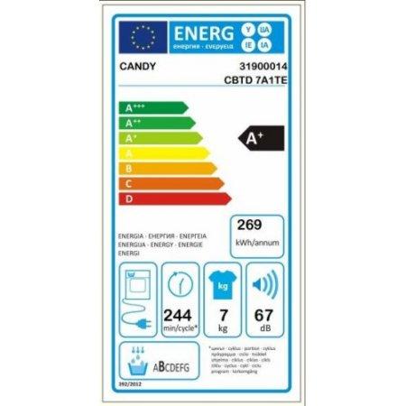 Candy Asciugatrice a pompa di calore - Cbtd7a1tes