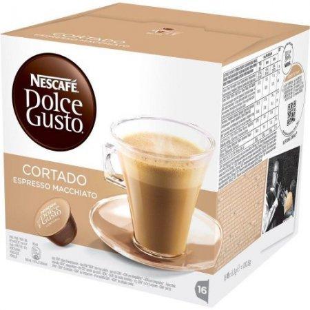 Nescafè 16 Capsule - 16 Capsule Dolce Gusto Cortado Espresso Macchiato - 12092399