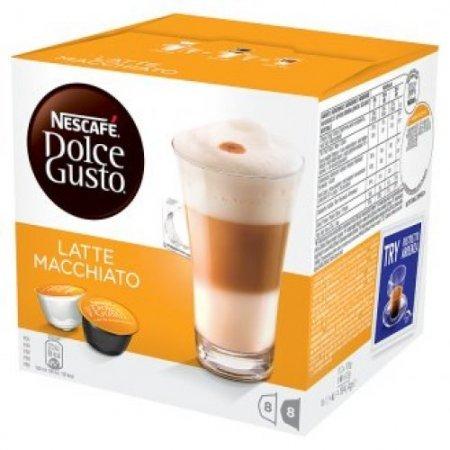Nescafè 16 Capsule - 16 Capsule Dolce Gusto Latte Macchiato - 12019901