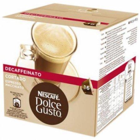 Nescafè - 16 Capsule Dolce Gusto Cortado Espresso Macchiato Decaffeinato - 12165917