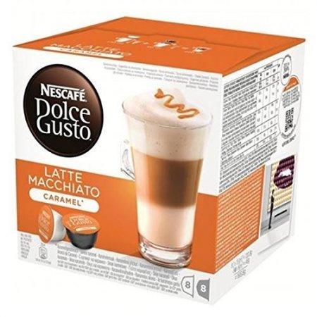 Nescafè - 16 Capsule Dolce Gusto Caramel Latte Macchiato  - 12136960