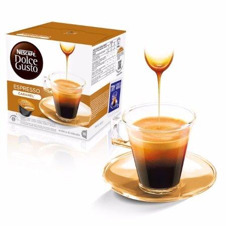 Nescafè 16 Capsule - 16 Capsule Dolce Gusto Espresso Caramel - 12128780