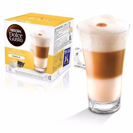 Nescafè 16 Capsule - 16 Capsule Dolce Gusto Latte Macchiato Vanilla - 12125503