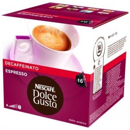 Nescafè 16 Capsule - 16 Capsule Dolce Gusto Espresso Decaffeinato - 12281216