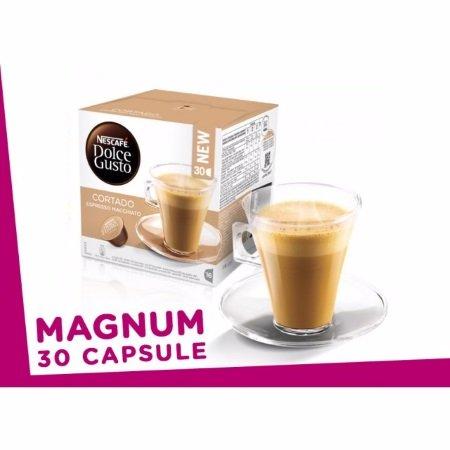 Nescafè - 30 Capsule Dolce Gusto Cortado Espresso Macchiato Magnum Pack - 1226788