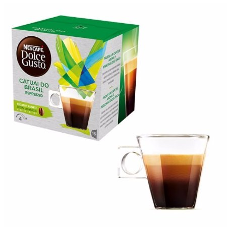 Nescafè 16 Capsule - 16 Capsule Dolce Gusto Catuai do Brasil Espresso - 12328739
