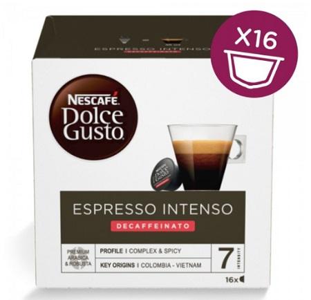 NESC.DOLCE GUSTO ESPRESSO INTENSO DECAFF Espresso Inteso Decaffeinato