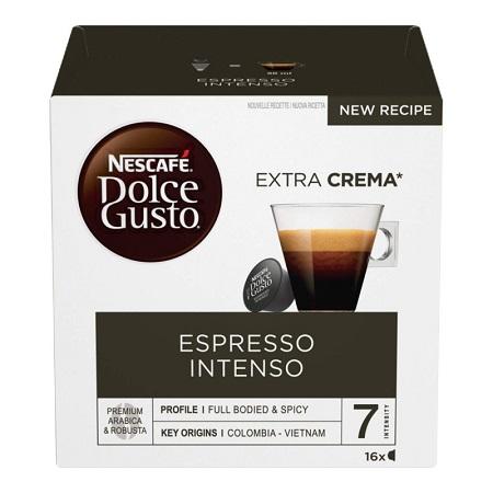NESC.DOLCE GUSTO ESPRESSO INTENSO 16 capsule di Espresso Intenso