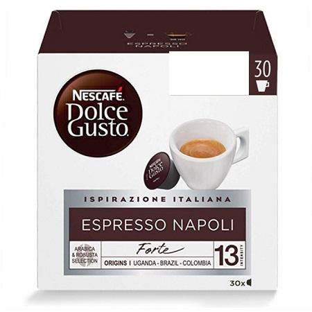Nestle' 30 capsule Nescafe Dolce Gusto ESPRESSO NAPOLI - 12413973