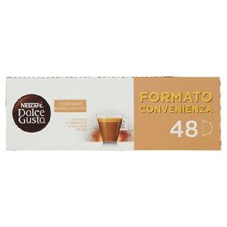 Nestle' NESCAFÉ DOLCE GUSTO CORTADO ESPRESSO MACCHIATO MEGAPACK - NESC.DOLCE GUSTO CORTADO ESPR.MACCH.48PZ