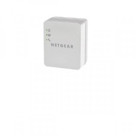 NETGEAR Extender Wi-Fi: per estendere la rete Wi-Fi in tutti gli spazi dove il segnale non giunge, amplificando il segnale wireless esistente - WI-FI EXTENDER PER MOBILE WN1000RP