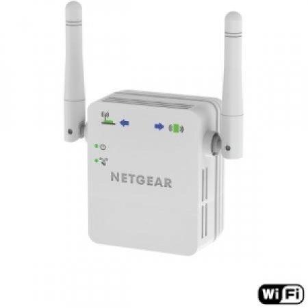 NETGEAR Wi-Fi Range Extender: consente di potenziare la copertura Wi-Fi fino ad arrivare alle zone irraggiungibili dalla connessione Wi-Fi in uso - WI-FI RANGE EXTENDER WN3000RP